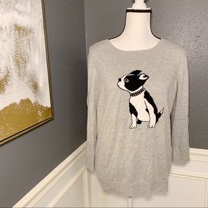 Apt 9 Boston Terrier sweater